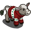 farmville sweater cow