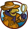 FarmVille Inspector Penguin Case
