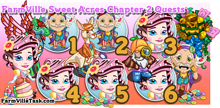 FarmVille Sweet Acres Chapter 2 Quests