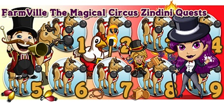 FarmVille The Magical Circus Zindini Quests