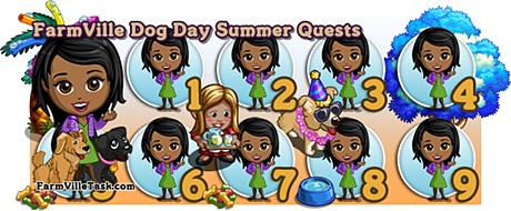 Farmville Dog Days of Summer Quests