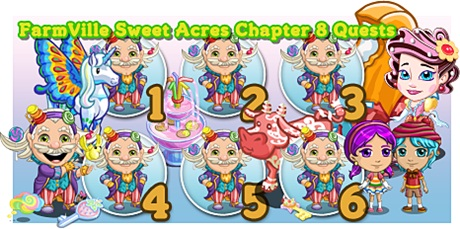 FarmVille Sweet Acres Chapter 8 Quests