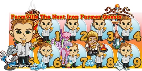 FarmVille The Next Iron Farmer Quests