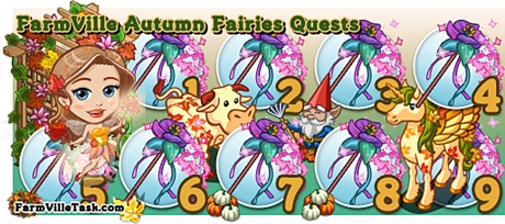 FarmVille Autumn Fairies Quest