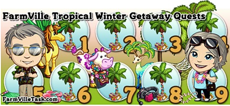 FarmVille Tropical Winter Getaway