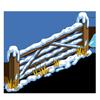 Snowed Fence x 20