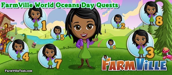 FarmVille World Oceans Day Quests