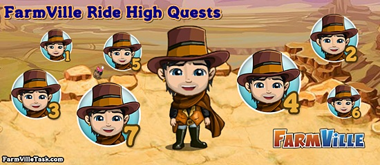 Ride High Quests
