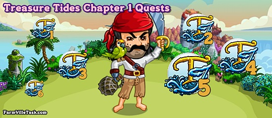Treasure Tides Chapter 1 Quests