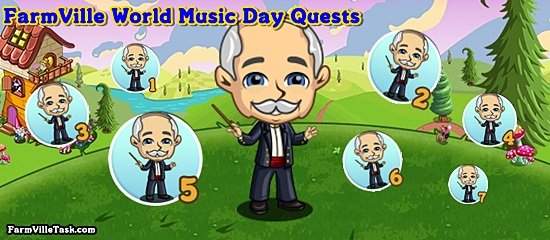 World Music Day Quests
