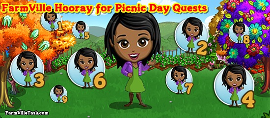 FarmVille Hooray for Picnic Day Quests