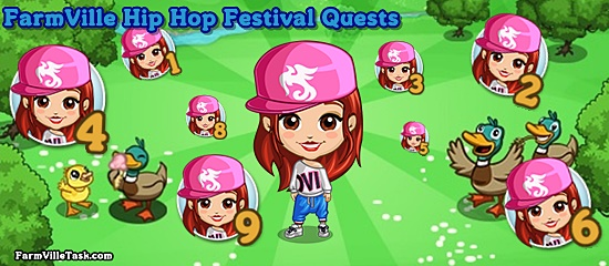Hip Hop Festival Quests