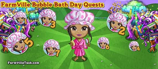 FarmVille Bubble Bath Day Quests