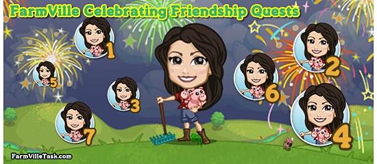 FarmVille Celebrating Friendship Quests