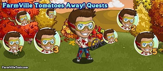 FarmVille Tomatoes Away! Quests