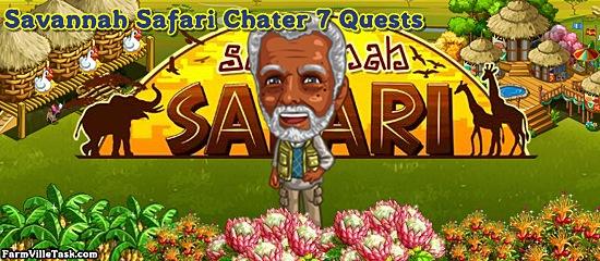 Savannah Safari Chapter 7 Quests