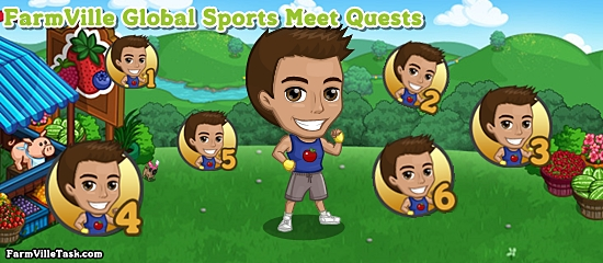 FarmVille Global Sports Meet Quests