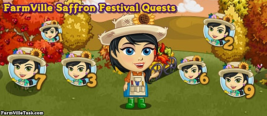 FarmVille Saffron Festival Quests