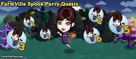 FarmVille Spook Party Quests