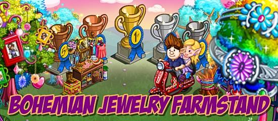 Bohemian Jewelry Farmstand
