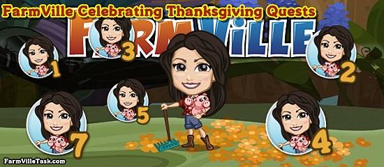 FarmVille Celebrating Thanksgiving Quests
