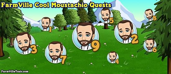 FarmVille Cool Moustachio Quests