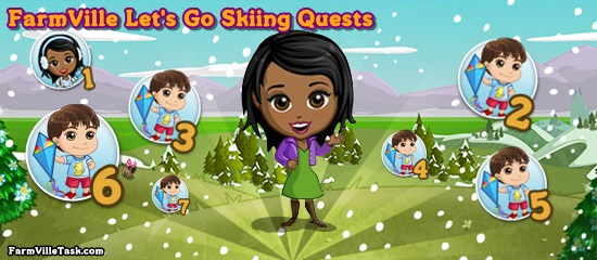 FarmVille Let's Go Skiing Quests