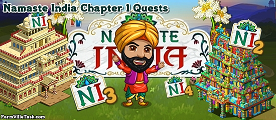 Namaste India Chapter 1 Quests