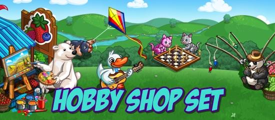 FarmVille Hobby Shop Set