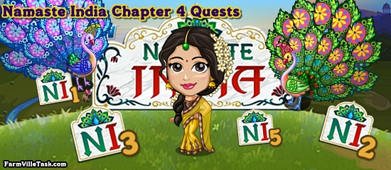Namaste India Chapter 4 Quests