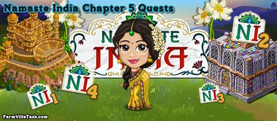 Namaste India Chapter 5 Quests