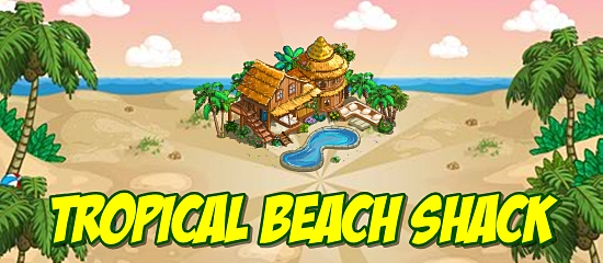 FarmVille Tropical Beach Shack