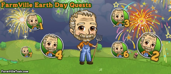 FarmVille Earth Day Quests