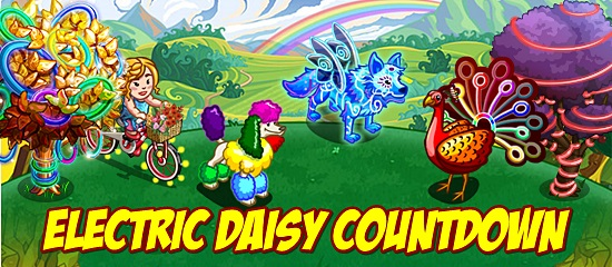 Electric Daisy Countodwn