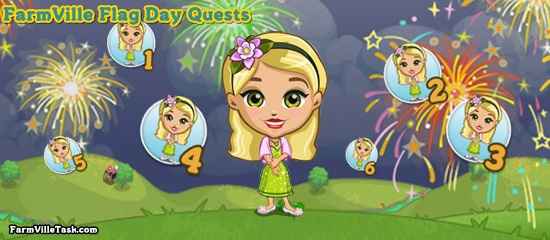 FarmVille Flag Day Quests