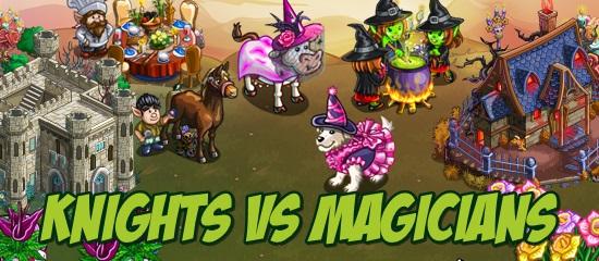 Knights vs Magicians
