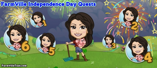 FarmVille Independence Day Quests