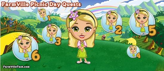 FarmVille Picnic Day Quests