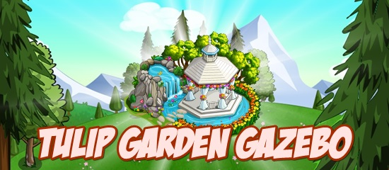 FarmVille Tulip Garden Gazebo