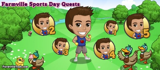 Farmville Sports Day Quests