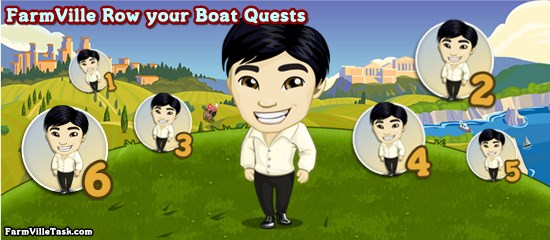 FarmVille Row your Boat Quests