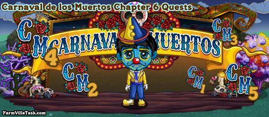 Carnaval de los Muertos Chapter 6 Quests