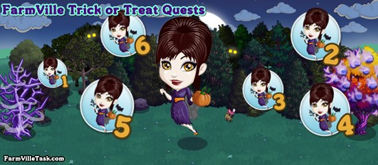 FarmVille Trick or Treat Quests