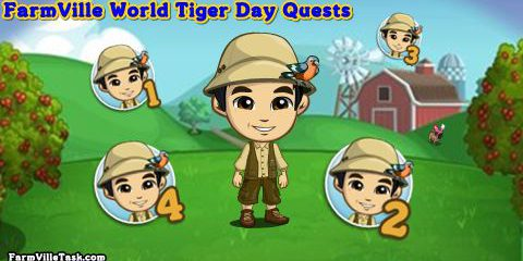 FarmVille World Tiger Day Quests
